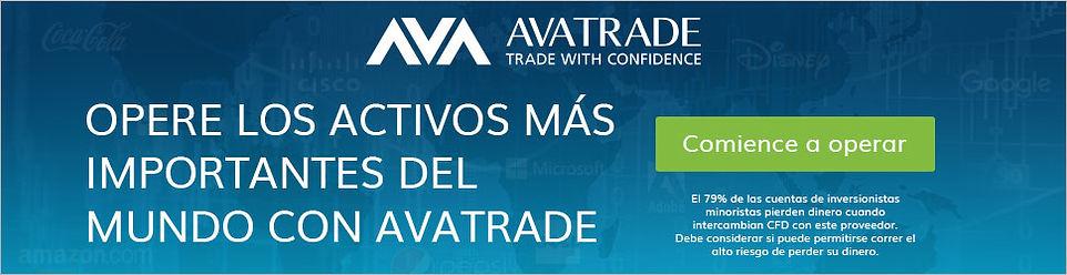 Invertir en mercados financieros internacionales con AvaTrade