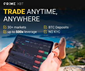 Trading with PrimeXBT, a Bitcoin-based platform (No KYC)