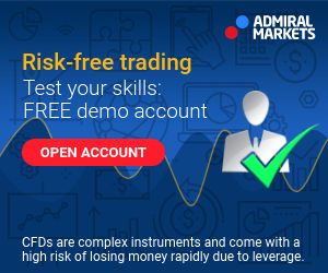 Trade stocks and ETFs with 0% commission @ Admiral Markets