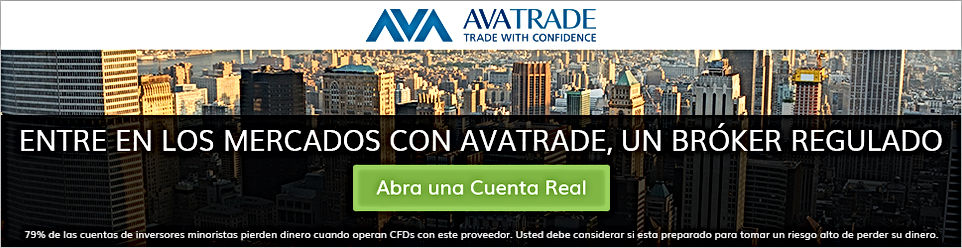 AvaTrade, broker regulado para invertir en bonos.