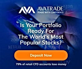Trade US Stocks from Albania with Avatrade