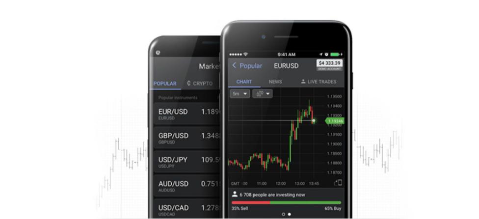 La app de Libertex permite tradear desde el móvil. Puedes practicar gratis en una cuenta demo con 50 000 euros.