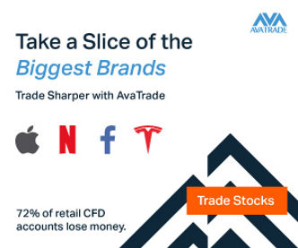 Trade the global markets with AvaTrade (1,250+ Financial Instruments)