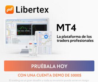Libertex es una plataforma muy popular, especialmente para los traders Cripto