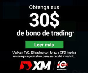 Trading con XM: Bonos, bonos y mas bonos.
