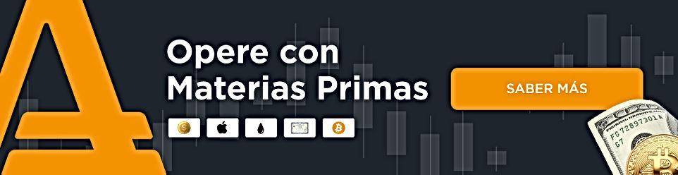 AMarkets, plataforma para Inversión en Materias Primas