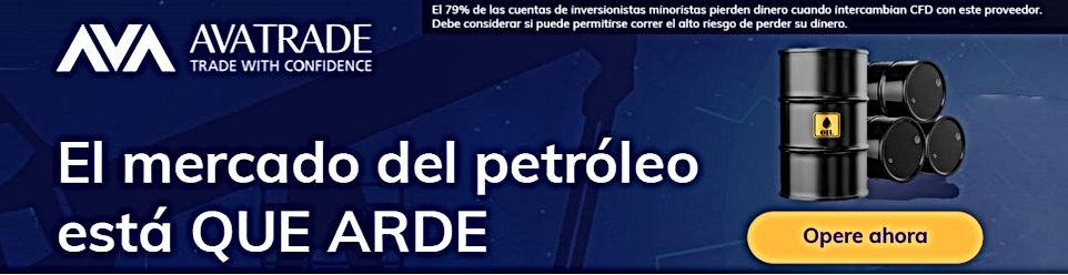 A través de AvaTrade puede invertir en futuros de petróleo