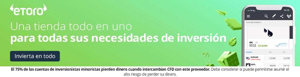 Invertir en Mercados Financieros Globales con eToro desde España