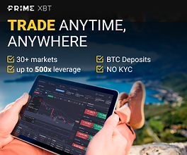 Buy & Trade Bitcoin with PrimeXBT from Mongolia