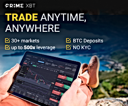 Buy & Trade Bitcoin with PrimeXBT from Mauritius