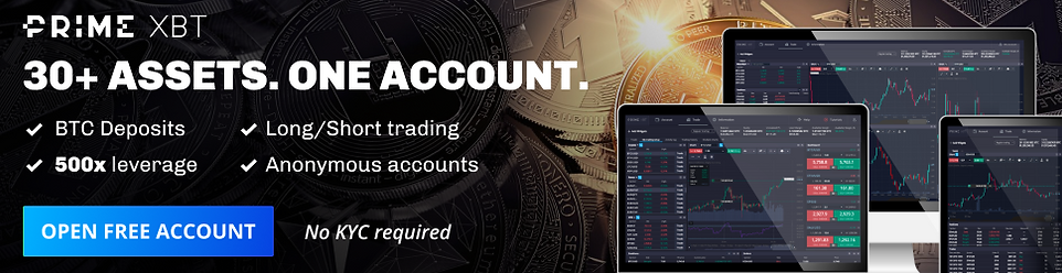 Cryptocurrency Trading is simple with PrimeXBT