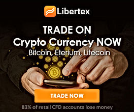 Libertex is a well-regulated Trading Platform offering a wide range of Cryptos
