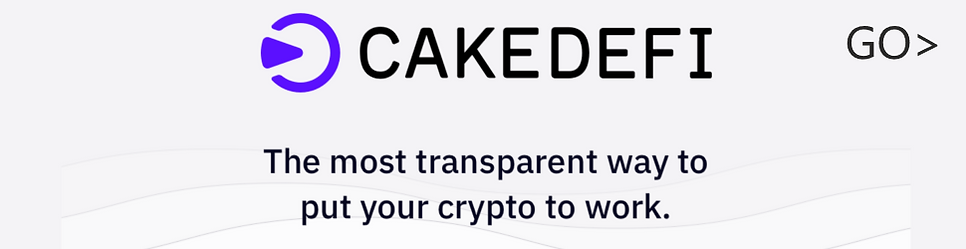 Cake is the first fully transparent platform that generates constant cash flow with your Cryptos.