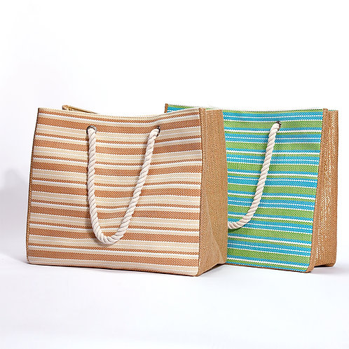 Horizontal Sands beach bag