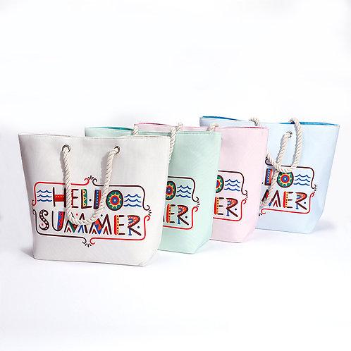 Hello Summer Beach Bag