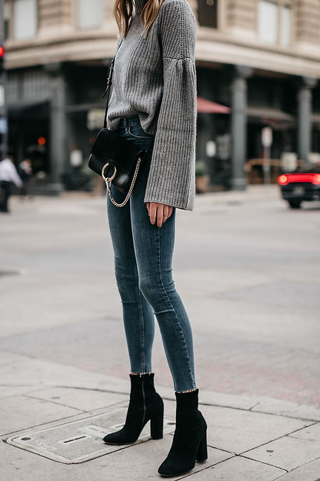 Fashion-Jackson-Grey-Bell-Sleeve-Sweater
