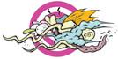 Bomber Vape Sour  Grape Flavour Art