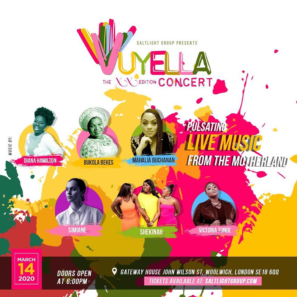 Vuyella, The XX Edition Concert