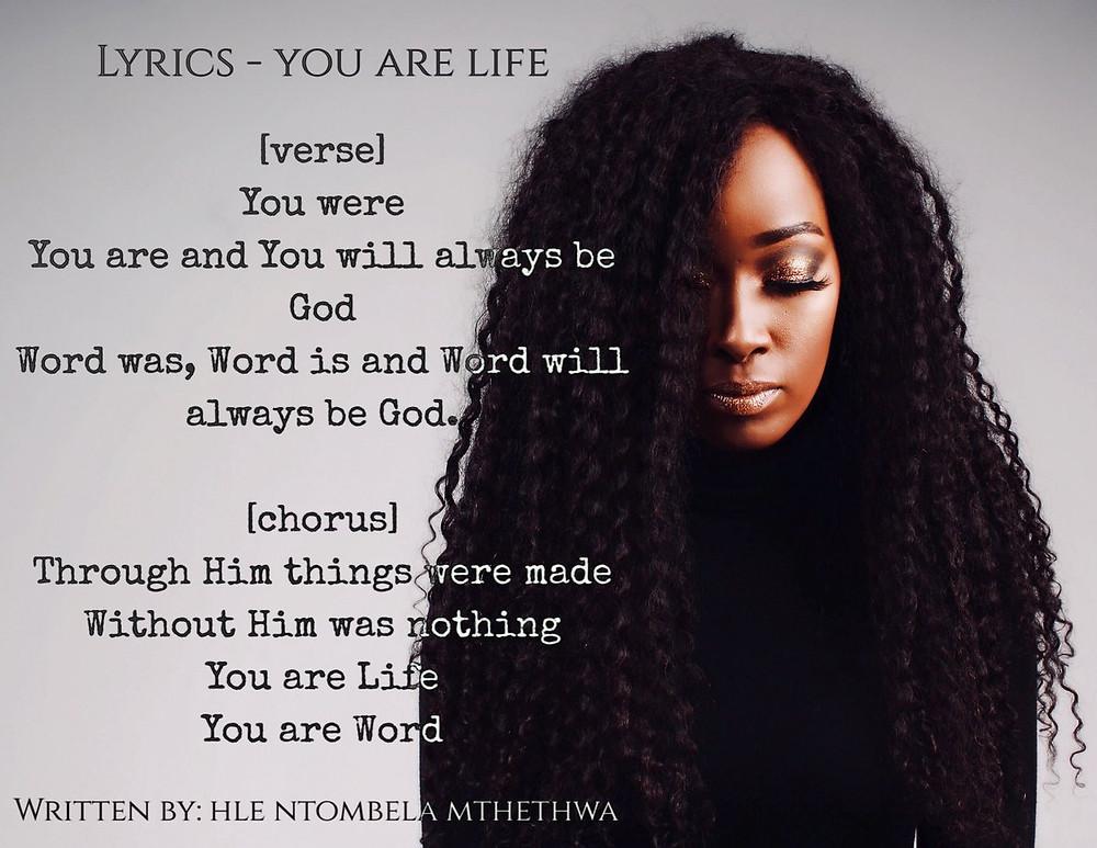 You Are Life - Hle Ntombela-Mthethwa