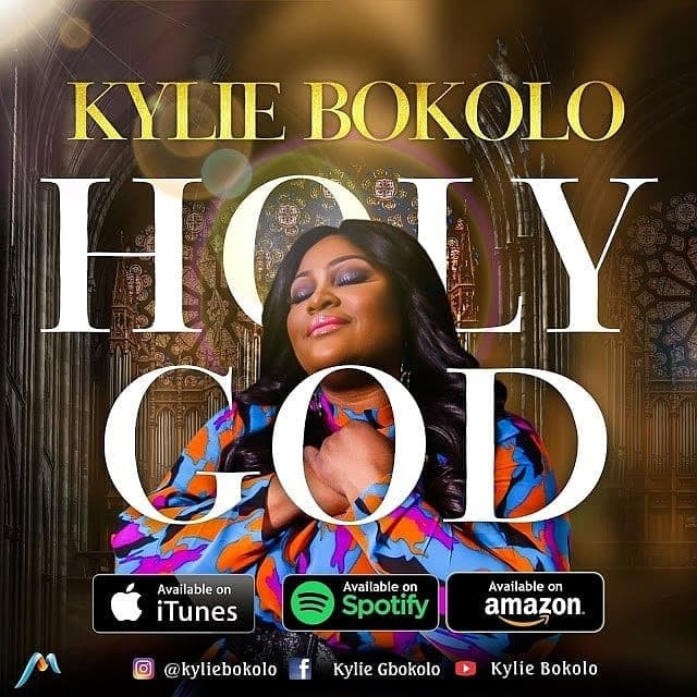 Holy God by Kylie Bokolo