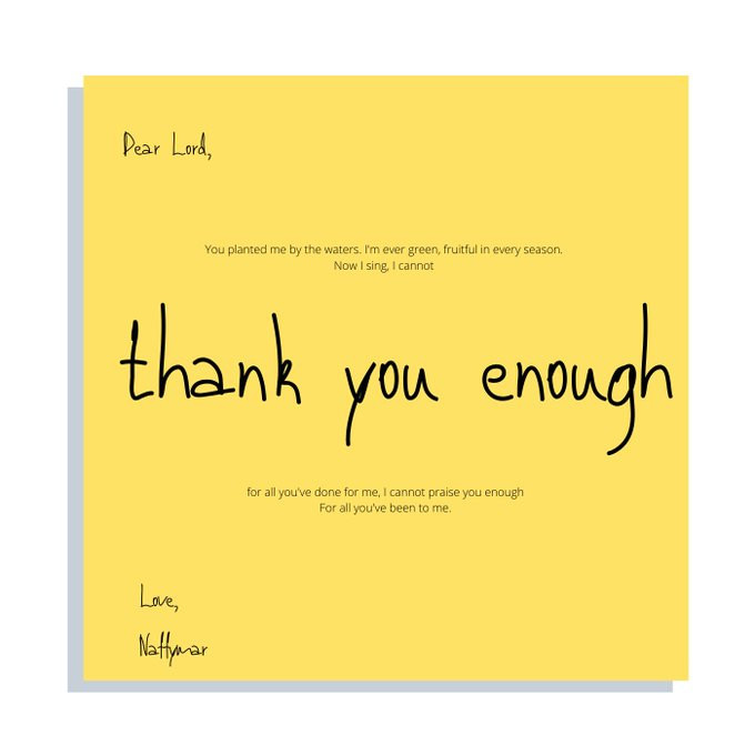 Thank You Enough by Naffymar