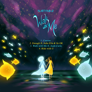 "TALENTED UK GOSPEL ARTIST, NAFFYMAR SHARES NEW EP: ""WALK WITH ME"""