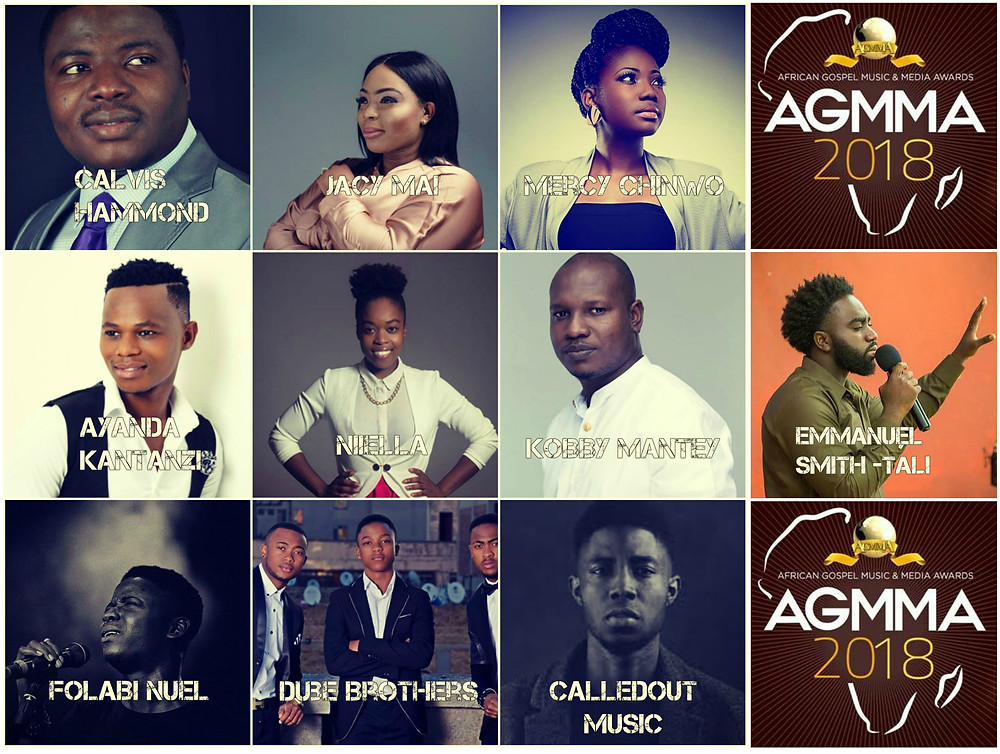 AGMMA 2018 | BREAKTHROUGH ARTISTS OF THE YEAR