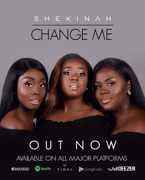 Change Me by Shekinah (Single) 2018