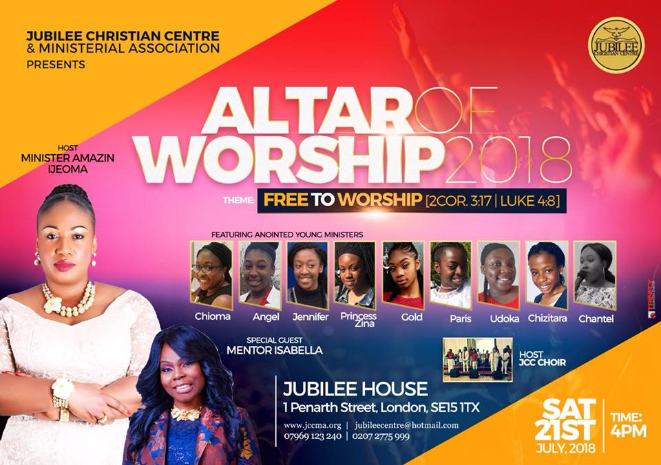 Altar Of Worship 2018