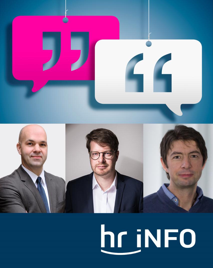 Interview zur Coronakrise mit dem Experten Maas in hr iNFO
