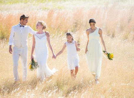 All white bridesmaids ?