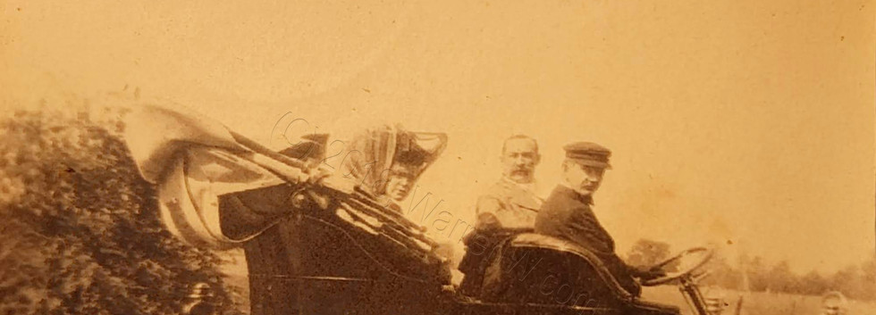 Various family members on a ride.