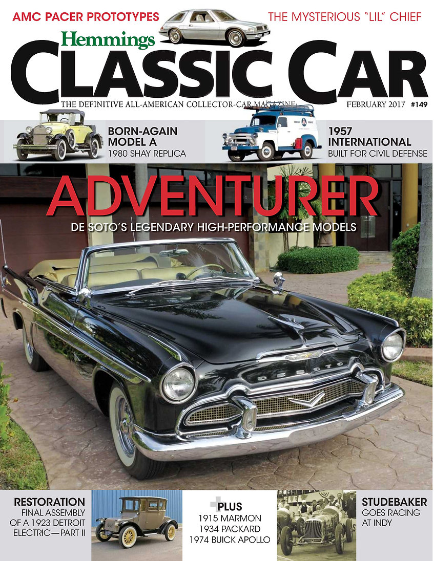 Hemmings Classic Car, Cover,, February 2017