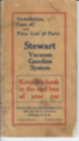 Stewart Vacuum Fuel Pump 1916