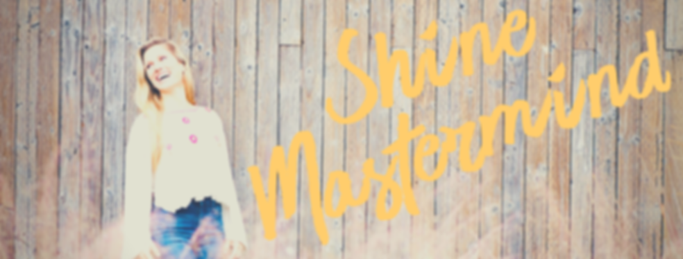 Shine Mastermind Banner for Website Work