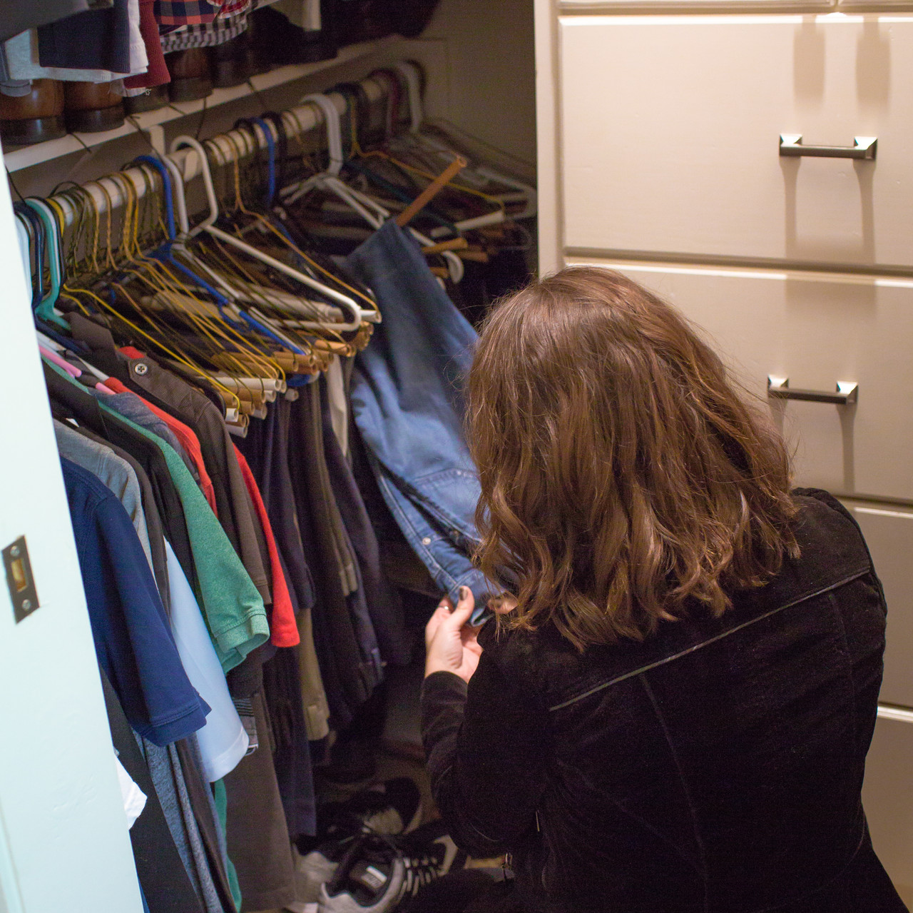 your closet is a great place to start when hiring a stylist for your photo session