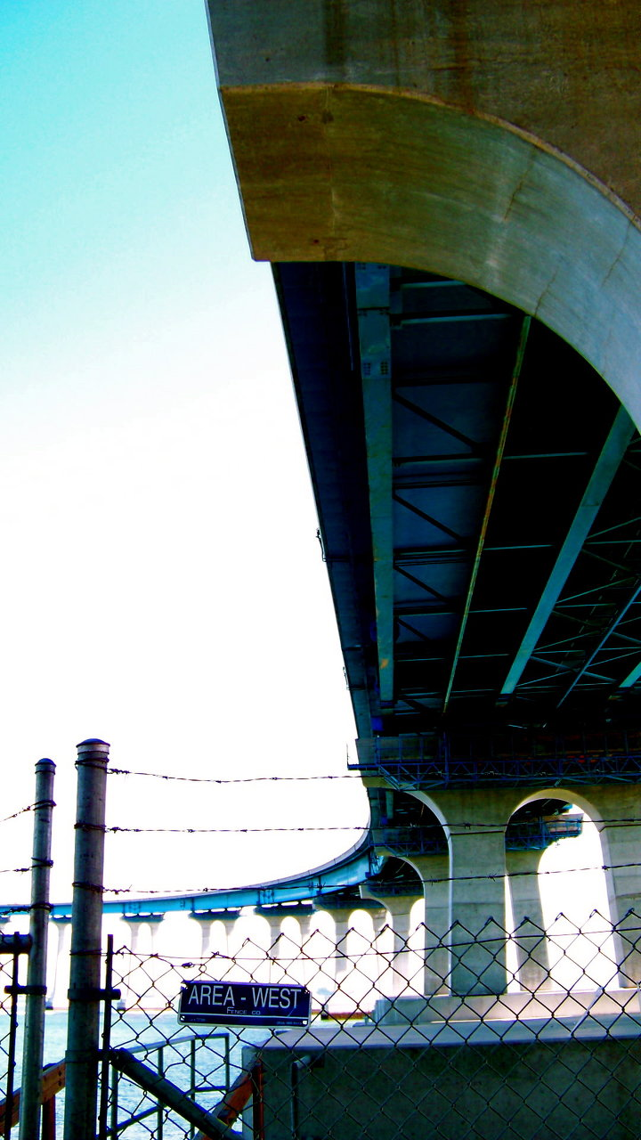 beneath the coronado bridge