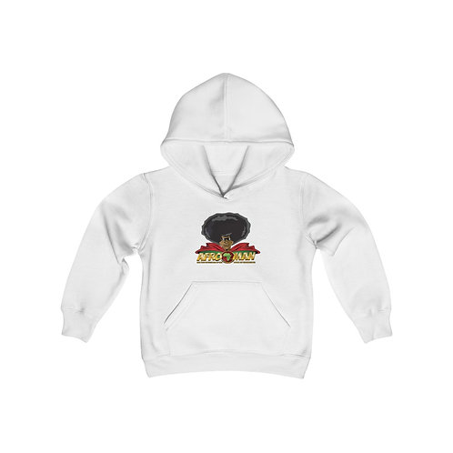 AFRO-MAN Youth Heavy Blend Hooded Sweatshirt