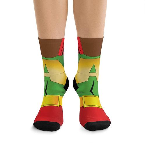 AFRO-MAN DTG Socks