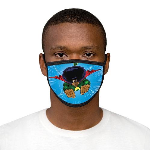 AFRO-MAN Mixed-Fabric Face Mask