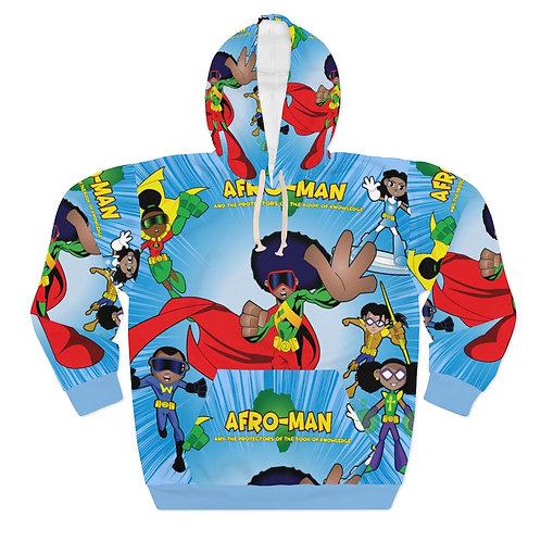 AFRO-MAN AOP Unisex Pullover Hoodie