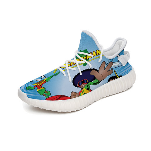 AFRO-MAN Yeezy Boost 350 V2 Running Shoes