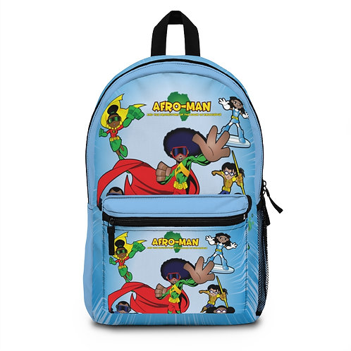 AFRO-MAN & THE PROTECTORS Backpack (Made in USA)