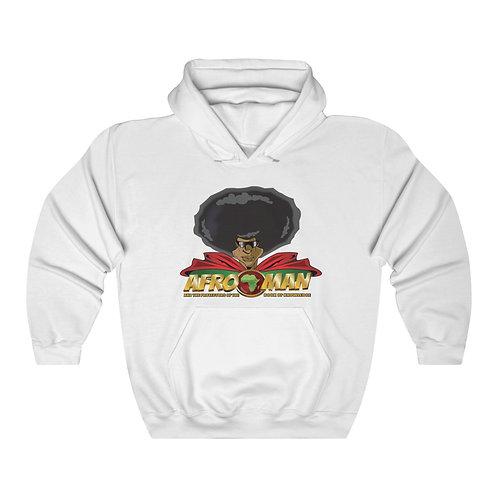 AFRO-MAN Unisex Heavy Blend™ Hooded Sweatshirt