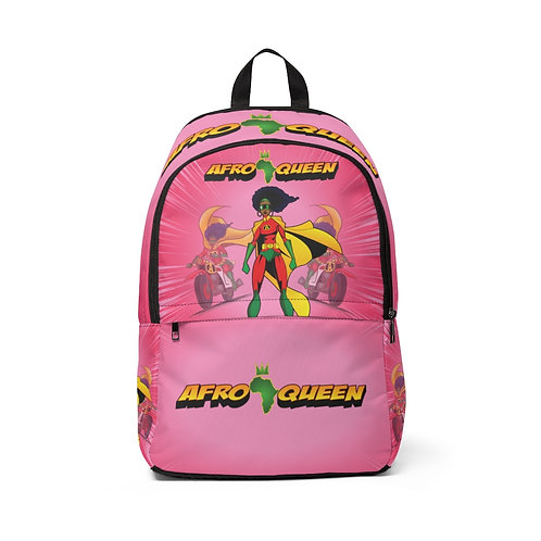 AFRO-QUEEN Fabric Backpack