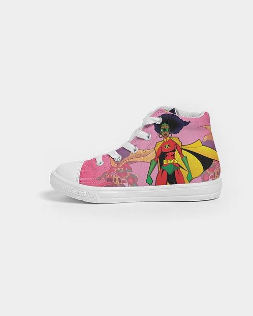 AFRO-QUEEN Kids Sneakers