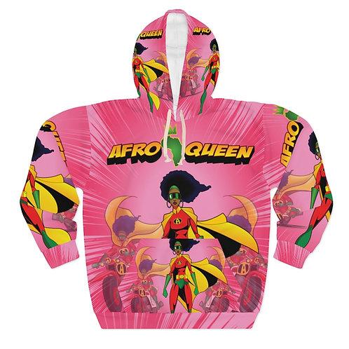 AFRO-QUEEN Pullover Hoodie