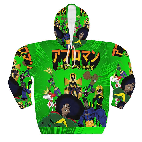 AFRO-MAN JAPANESE Unisex Pullover Hoodie