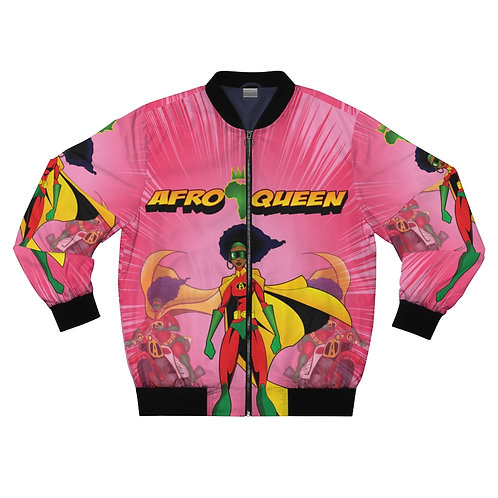 AFRO-QUEEN  Bomber Jacket