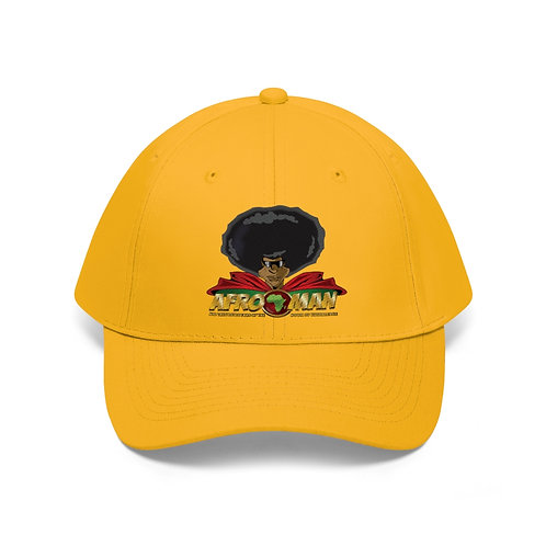 AFRO-MAN Head Unisex Twill Hat